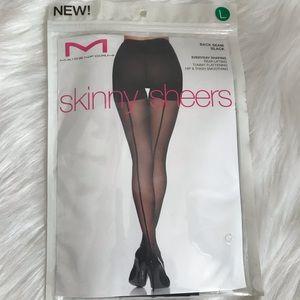 NWT Maidenform skinny sheers sz XL